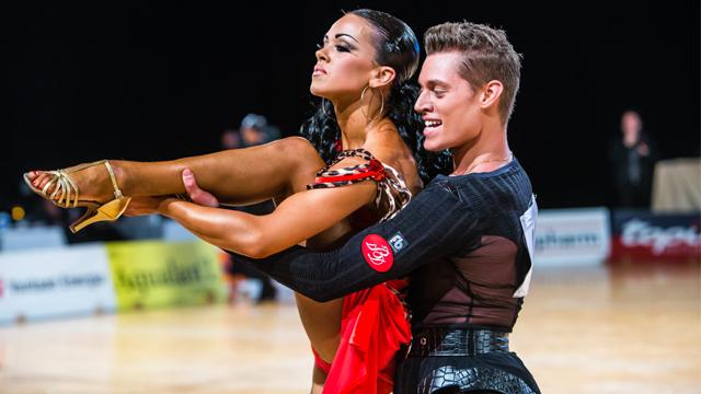 sporta deju sacensības